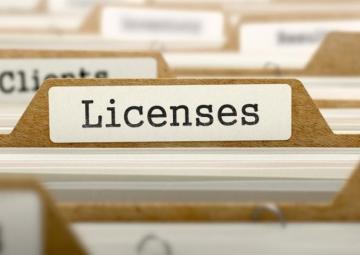 бумажные лицензии