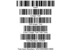 штрих код образцы