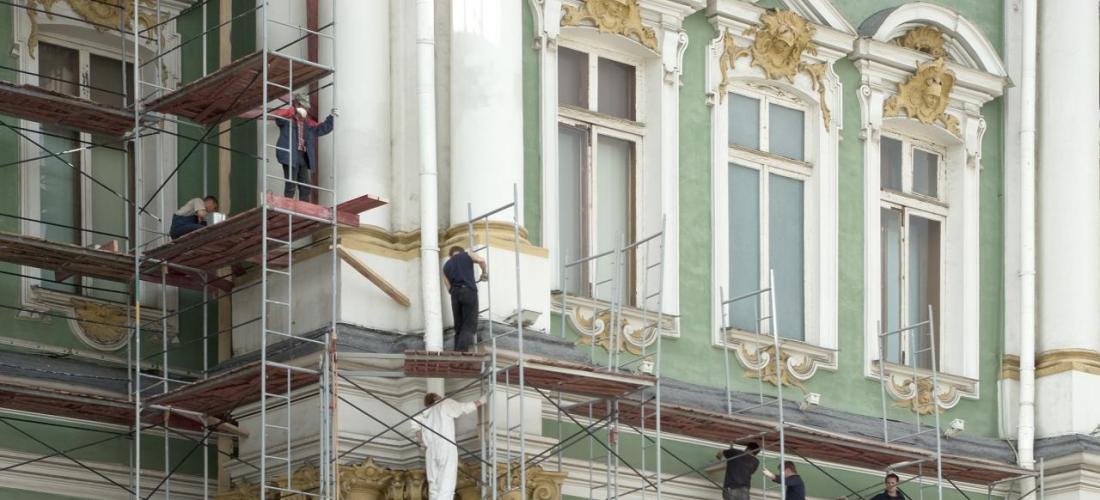 работы по реставрации отделки